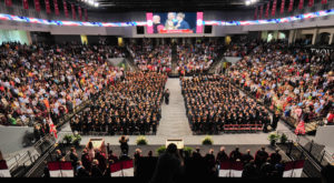 Summer commencement will be held on Friday, July 27 inside Trojan Arena. More than 500 students will received their diplomas during the event.
