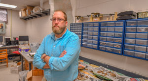 Dr. Stephen Carmody, assistant professor of anthropology, recently contributed to a major discovery regarding the history of tobacco in North America.