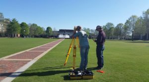 The department combines combines geography, surveying and drone technology.