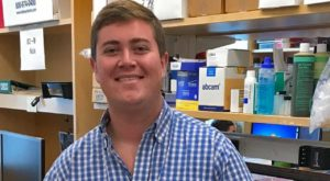 Blake Swicord is studying with top doctors in Massachusetts as part of a Harvard Medical School internship.
