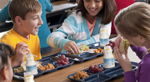 School children in select school systems in Alabama are on a free school lunch and breakfast program under USDA.
