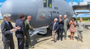 TROY, Air Force Reserve unveil Trojan Warrior Spirit C-130