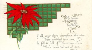 Dr. Marty Olliff's monthly column examines a collection of Christmas cards dating to 1924.