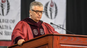 Italian Senator tells graduates their journey is just beginning