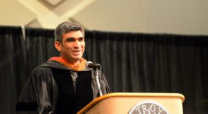 Patel encourages graduates to dream big