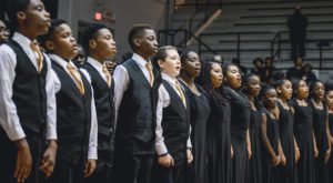 The Johnnie R. Carr Middle School Choir will perform during the opening session of the Leadership Conference on Friday night.