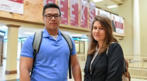 Global Business students recognized with scholarship awards from cybersecurity association