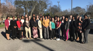 TROY students took part in the American Association of University Women of Alabama conference in 2018 and will host this year's event.