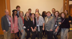 TROY students performed well at several recent journalism conferences, including the Southeast Journalism Conference in Tennessee.