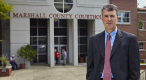 Attorney General Steve Marshall will speak at TROY as part of the Gibson Vance Distinguished Lecturer Series on Thursday, April 18.