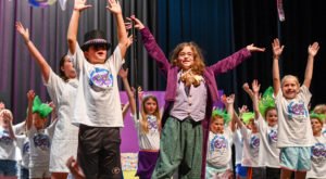 Children took the stage over the weekend to perform