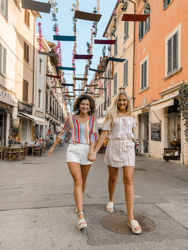 Taking a stroll through Pietrasanta