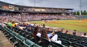 Riverwalk Stadium in Montgomery, home of the Biscuits.