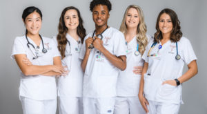 The new group of enrolled nursing students this semester is the 50th in TROY's history.