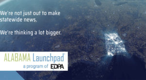 The Economic Development Partnership of Alabama opens applications for its Cycle 4 Alabama Launchpad competition on Aug. 6. (graphic/EDPA)