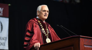 Troy University to celebrate Dr. Jack Hawkins, Jr.'s 30th year as Chancellor with activities on Saturday