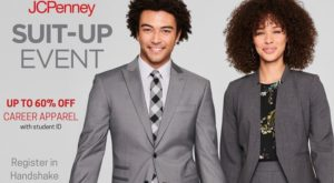The annual Suit Up event gives TROY students exclusive access to discounted business apparel at JCPenney.