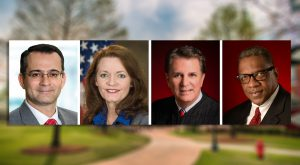 Anshooman Aga, Darlene Hutchinson Biehl, Tommy Bryan and Lamar P. Higgins will be honored on Saturday as TROY's Alumni of the Year.