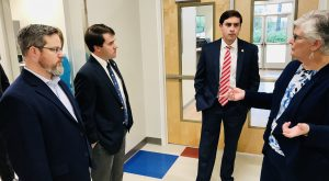 State Lawmakers, Pre-K Advocates tour Coleman Center