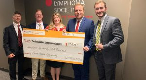 FarmHouse Fraternity donated $19,500 to the Alabama Chapter of the Leukemia and Lymphoma Society, and garnered Top Contributor honors. (submitted)