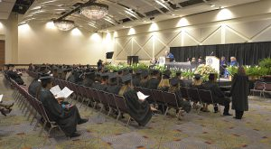 Nearly 150 graduates are expected to receive their diplomas during a commencement ceremony at the Columbus Convention and Trade Center on Jan. 24.
