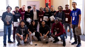 TroyHack challenged students to solve problems using technology over the course of three days.