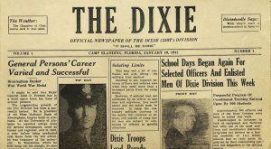 Dr. Marty Olliff's monthly column examines a World War 2-era military newspaper that can be found in the Wiregrass Archives at TROY's Dothan Campus.