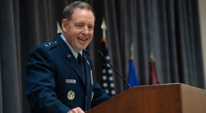 Lt. Gen. James B. Hecker became commander and president of Air University on Nov. 22. He will address the Alabama World Affairs Council on March 17.