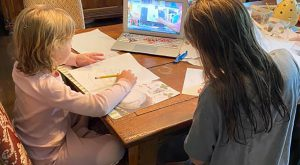 TROY alumna Barbara Grimes' daily are lessons on Facebook Live are providing children with creative learning opportunities while at home.