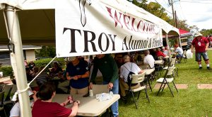 All Trojans joining or renewing their membership during the Troy University Alumni Association's Membership in May campaign will receive a free gift.