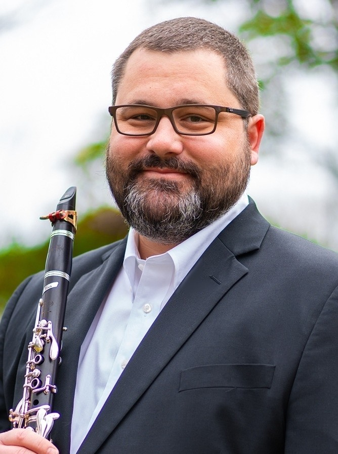 Dr. Tim Phillips, host of Clarinet Corner.