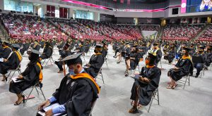 TROY graduates reflect on unique commencement