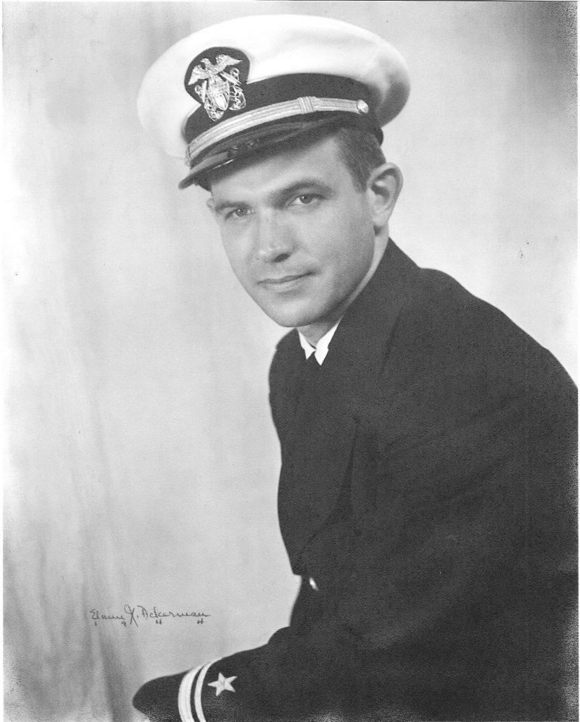 Lt. Eustace E. Bishop, USNR