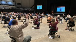 About 1,000 City of Dothan employees are participating in the sessions.