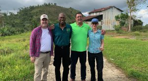The central mountains of Puerto Rico has drawn the attention of TROY professor Dr. Patrick Holladay and a team of academic and civic leaders.
