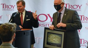 Dave White retires as Vice Chancellor of the Phenix City Campus