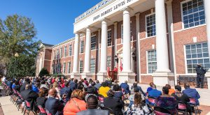 Troy University officially dedicates John Robert Lewis Hall