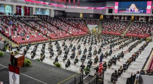 Troy University will hold fall commencement ceremonies at 10 a.m. and 3 p.m. inside Trojan Arena on Friday, Dec. 11.