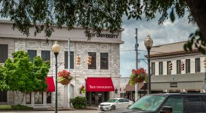 Troy University's IDEA Bank on the Square in downtown Troy is home to the Small Business Development Center at Troy University. (TROY photo/Mark Moseley)