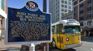 The virtual event featured Dr. Valda Harris Montgomery, who as a child growing up in Montgomery, had a first-hand view of the Montgomery Bus Boycott.