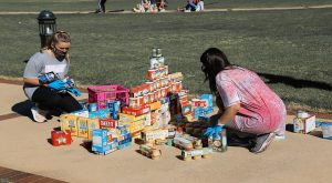 Can Castle contest brings 7,000 food items to local children
