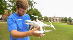 The FAA selected TROY's Unmanned Aerial Systems program for the UAS Collegiate Training Initiative.