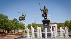 Troy University will celebrate Military Appreciation Month in May by waiving application fees for active duty service members.