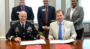 TROY, Georgia Military College ink articulation agreement, paving the way for GMC graduates to continue pursuing educational goals
