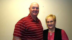 Marty and Jackie Gilley make generous contribution to Athletics Leadership Society