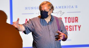 Nationwide Anti-Hunger Tour makes a stop at Troy University to recognize Trojan efforts to address hunger in the local area