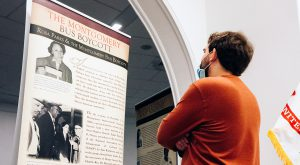 Traveling exhibits sharing the legacy of Rosa Parks, women of the Montgomery Bus Boycott throughout state, region
