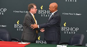TROY, Bishop State Community College partnership is first of its kind in Alabama