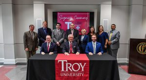 TROY and LBWCC sign agreement to help students succeed