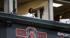 Newman makes history as a part of first all-female broadcast team for Major League Baseball game